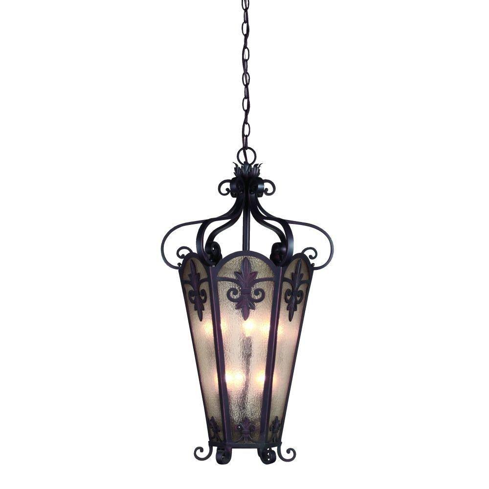 Luminaire Suspendue à 6 Lumières, Collection Lonsdale