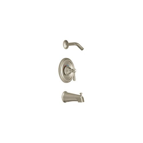 Kingsley Single-Handle Posi-Temp Bath/Shower Faucet in Brushed Nickel