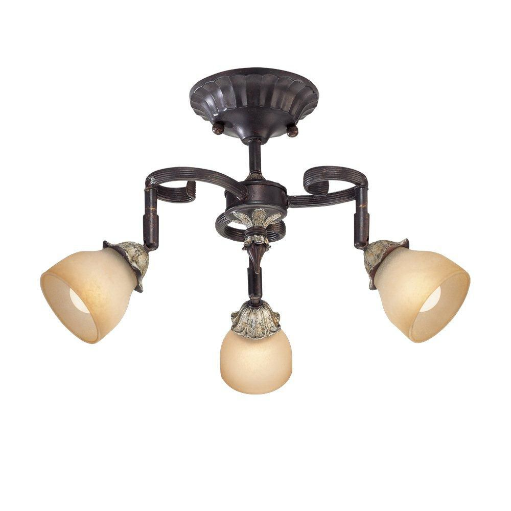 Magnolia Collection 3 Light Aged Bronze Track