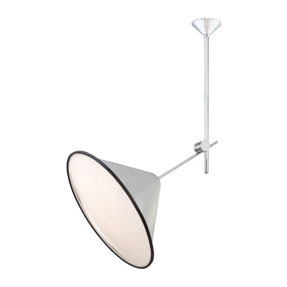 Manera Collection 1 Light Aluminum Pendant
