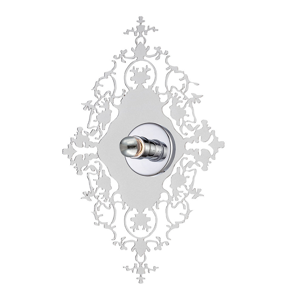 Royal Collection 1 Light Clear Wall Sconce