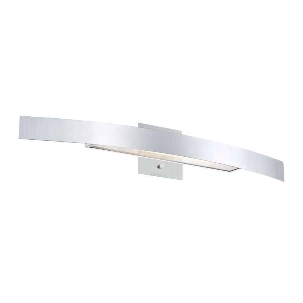 Sahar Collection 1 Light Chrome Wall Sconce