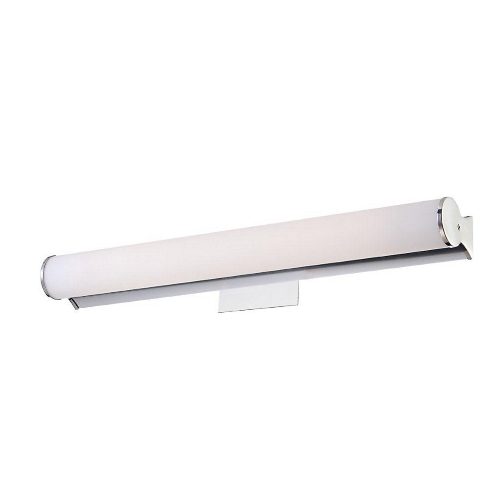 Scepter Collection 1 Light Medium Chrome Wall Sconce
