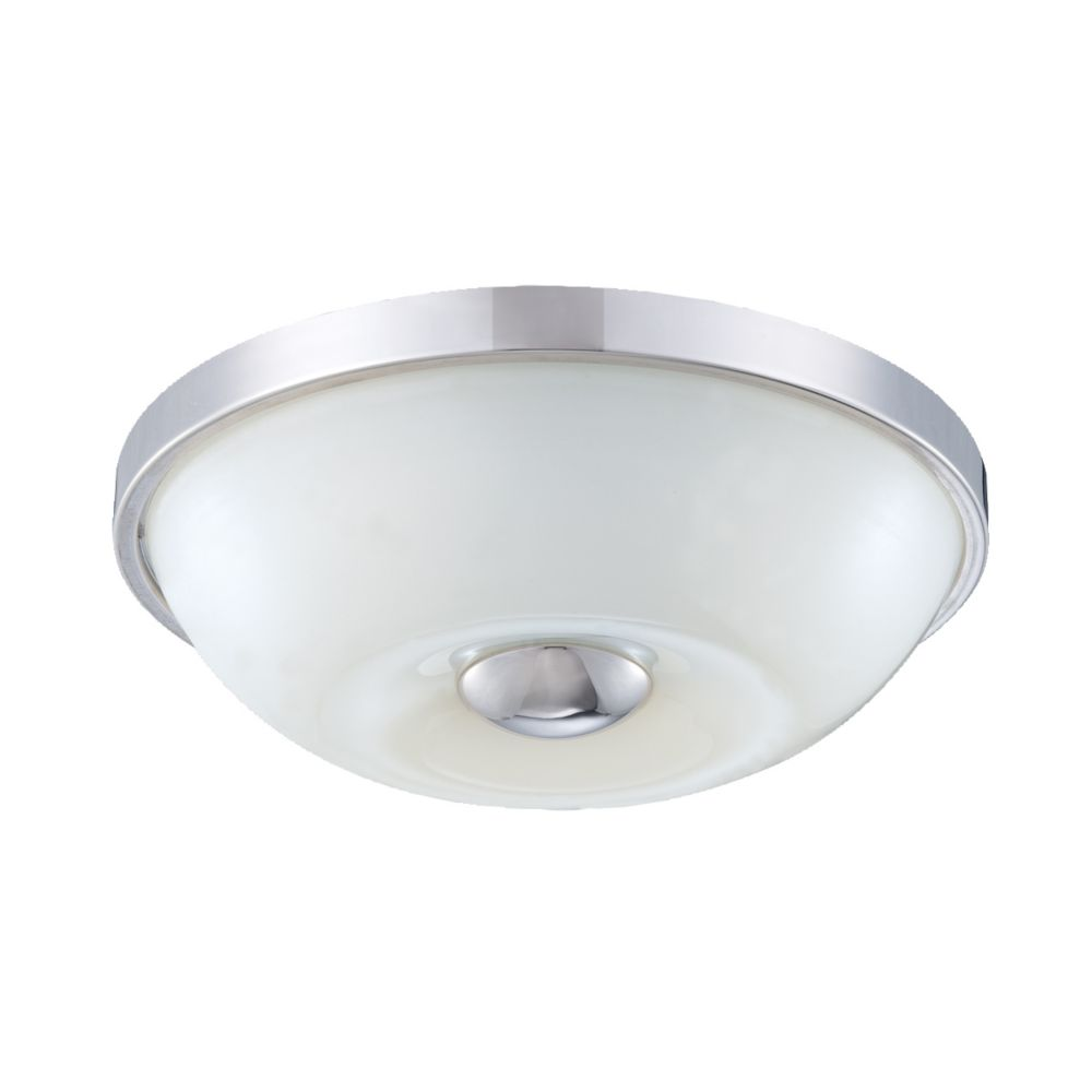 Motion Collection 1 Light Chrome Flushmount