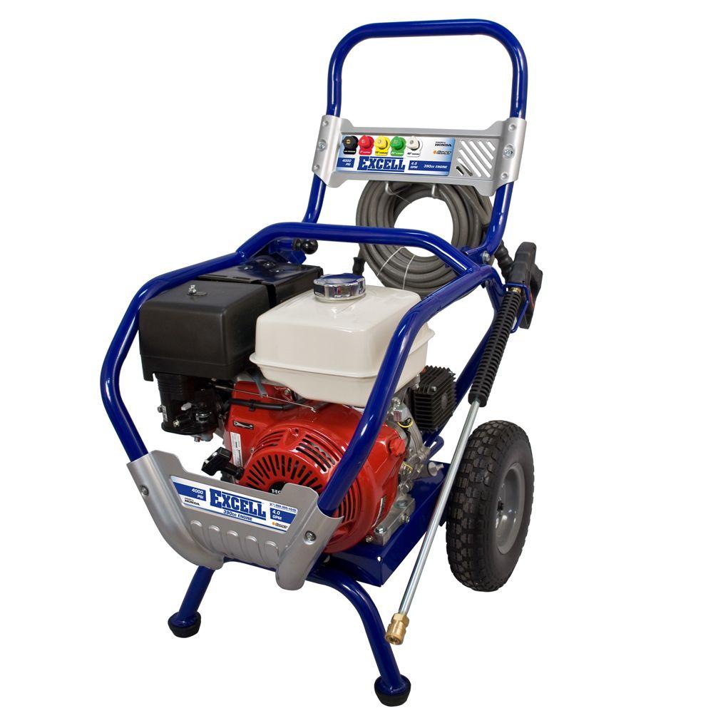 Appareil de nettoyage de gaz à pression de 4 000 livres par pouce carré et 4 gallons/min