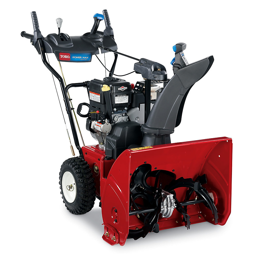 Power Max 724 OE 2-Stage Electric Start Gas Snow Blower with 24-inch Clearing Width