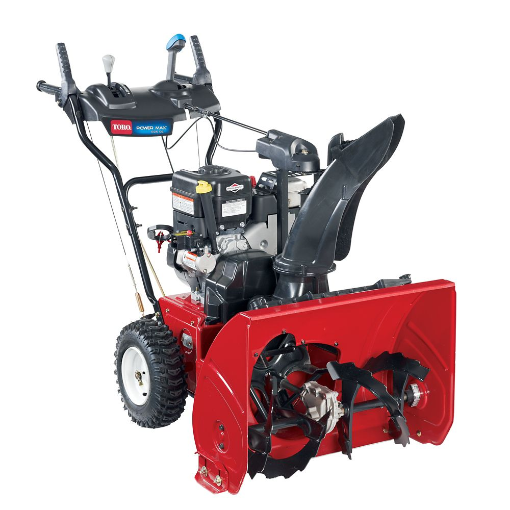 Power Max 826 OE Two-stage Electric Start Gas Snow Blower with 26-Inch Clearing Width