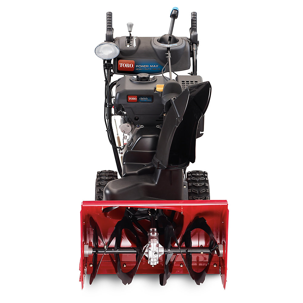 Power Max HD 928 OE Electric Start Gas Snow Blower with 28-inch Clearing Width