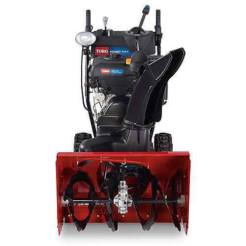 Power Max HD 1028 OXE Electric Start Gas Snow Blower with 28-Inch Clearing Width