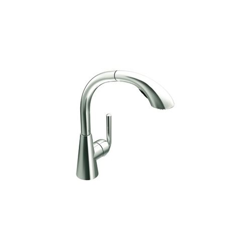 Ascent Single-Handle with Pullout Spout Kitchen Faucet in Chrome S71709 Canada Discount