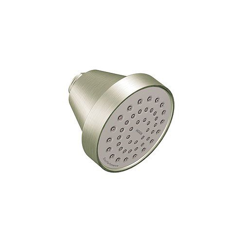 MOEN Align Level 1-Spray Eco-Performance Fixed Shower Head in Brushed Nickel