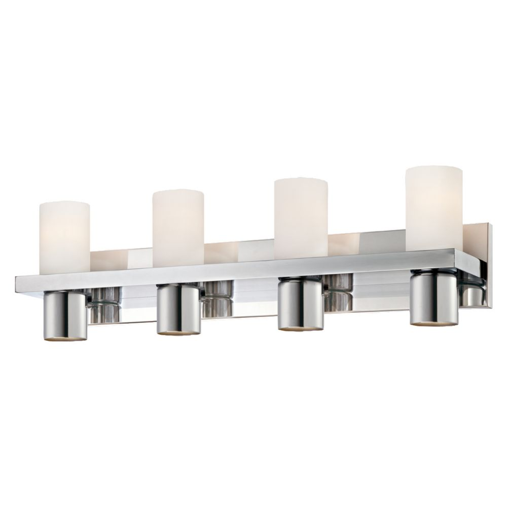 Pillar Collection 4 Light Chrome Bathbar
