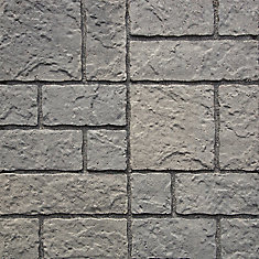 Fundystone Paver Natural/Charcoal