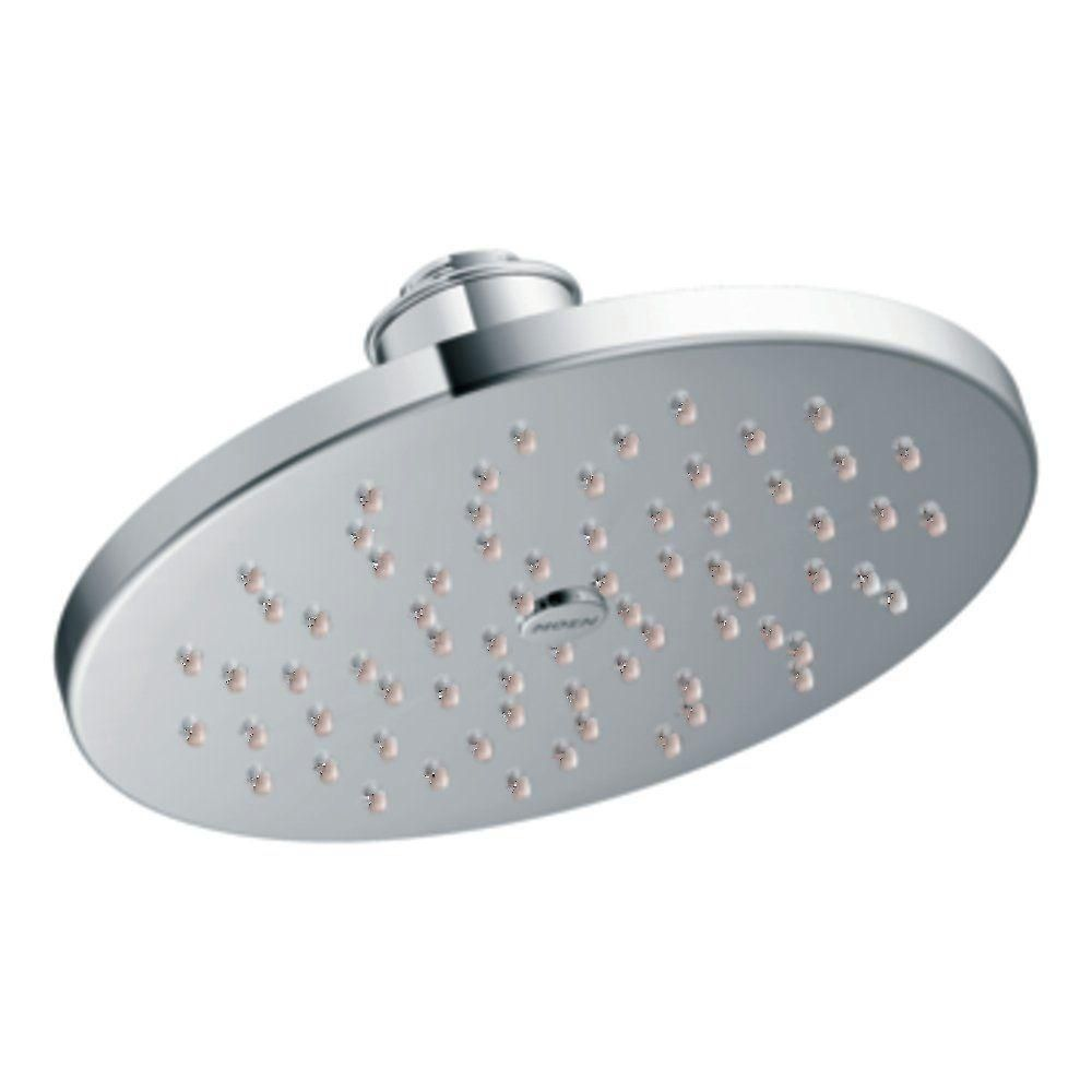 Eco Performance Single-Function 8-inch Rainshower Showerhead in Chrome