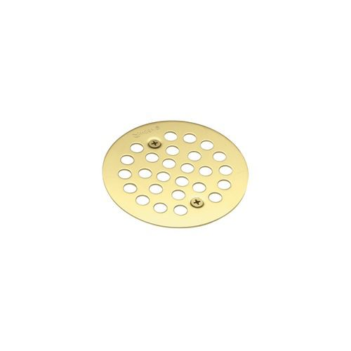 Tub and Shower Drain Cover in Polished Brass 101664P in Canada