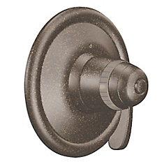 ExactTemp Kit de garniture de robinet thermostatique à 1 poignée en bronze frotté à l'huile (robinet vendu séparément)