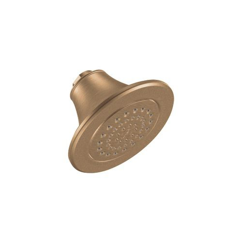 Single-Function Standard Showerhead in Brushed Bronze
