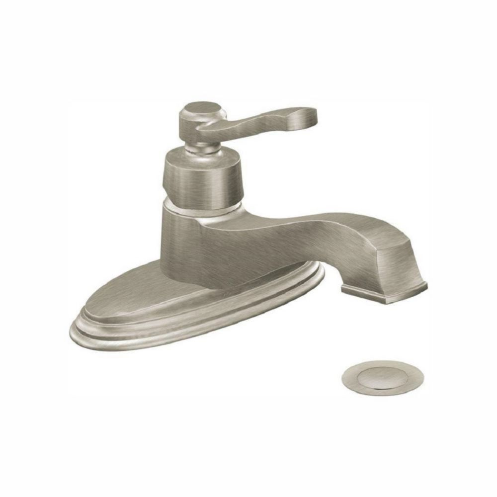 Bathroom Sink Faucets Cheap: Rothbury 1-Handle Low Arc Lavatory Faucet In Brushed