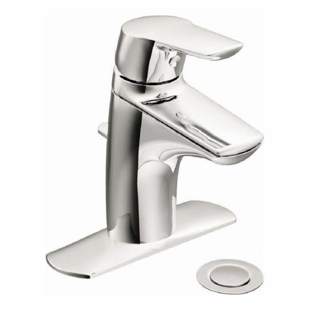 Method Single-Handle Low-Arc Bathroom Faucet in Chrome Finish