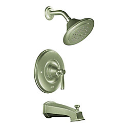 Rothbury 1-Spray Tub Shower Faucet in Brushed Nickel (Valve Sold Separately)