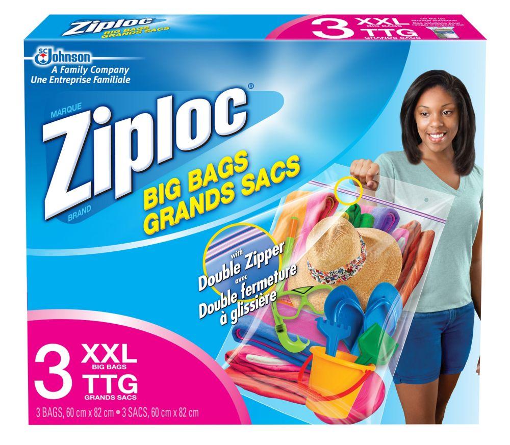Big Bags - XXL - Double Zipper