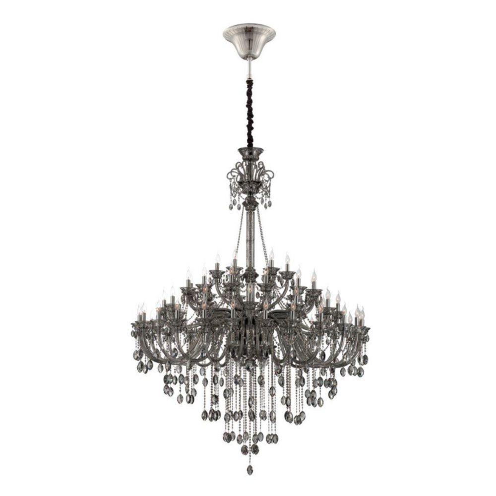 Venetian Collection 54 Light Smoke Chandelier