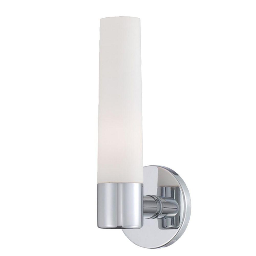 Vesper Collection 1 Light Chrome Wall Sconce