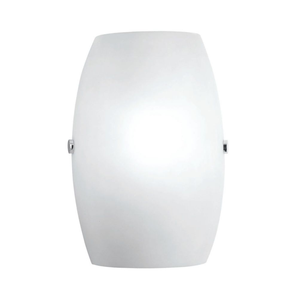 Vita Collection 1 Light Chrome Wall Sconce