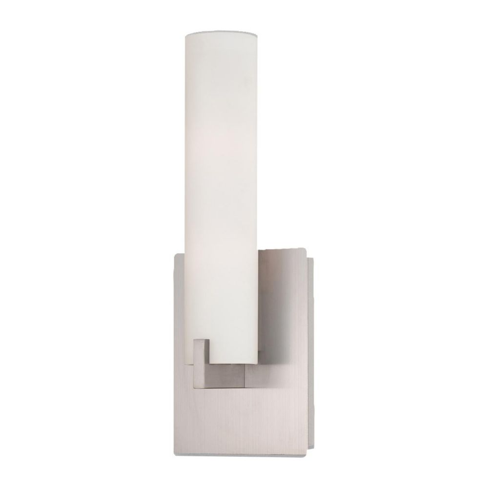 Zuma Collection 2 Light Brushed Nickel Wall Sconce