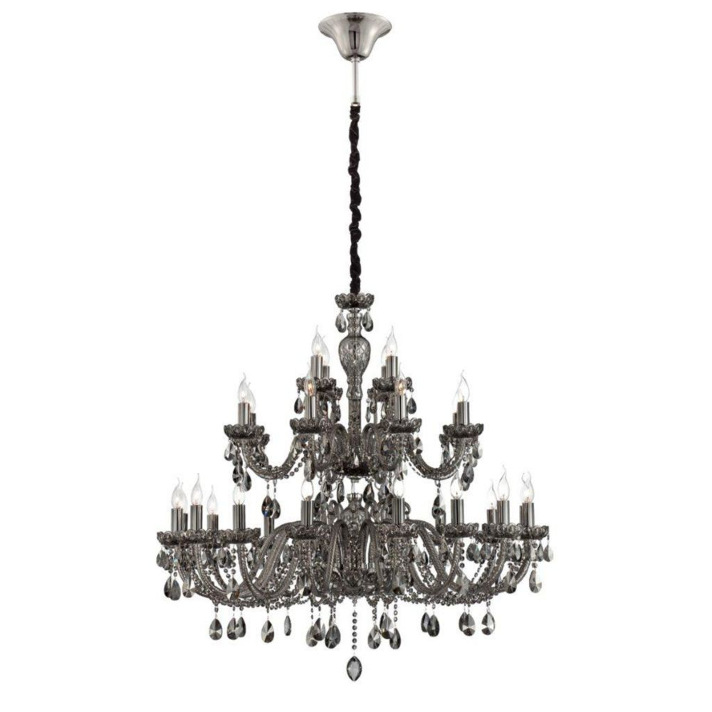 Providence Collection 28 Light Smoke Chandelier