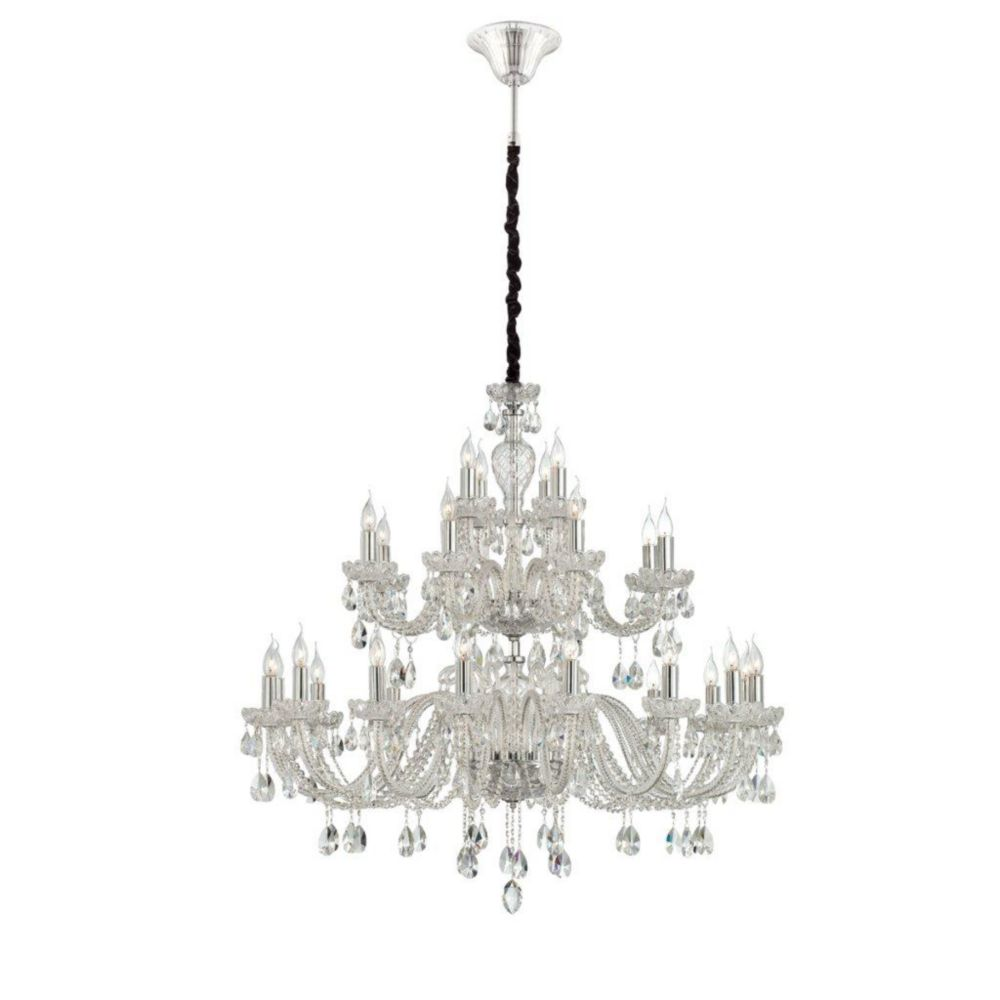 Providence Collection 28 Light Clear Chandelier