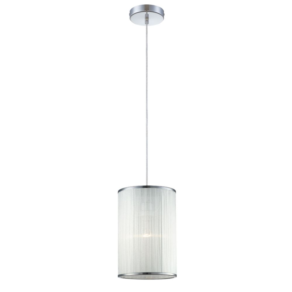 Eurofase Quintus Collection 1 Light Off White Pendant
