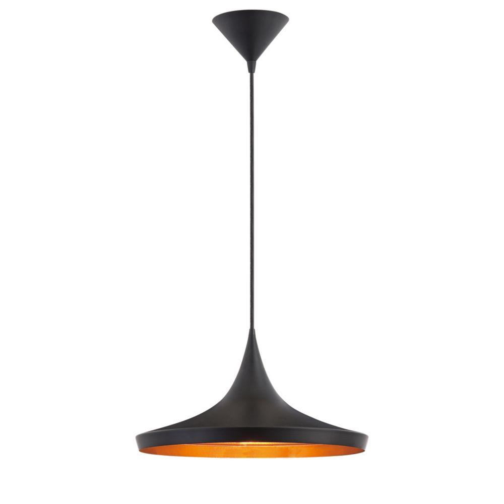 Ramos Collection 1 Light Black Pendant