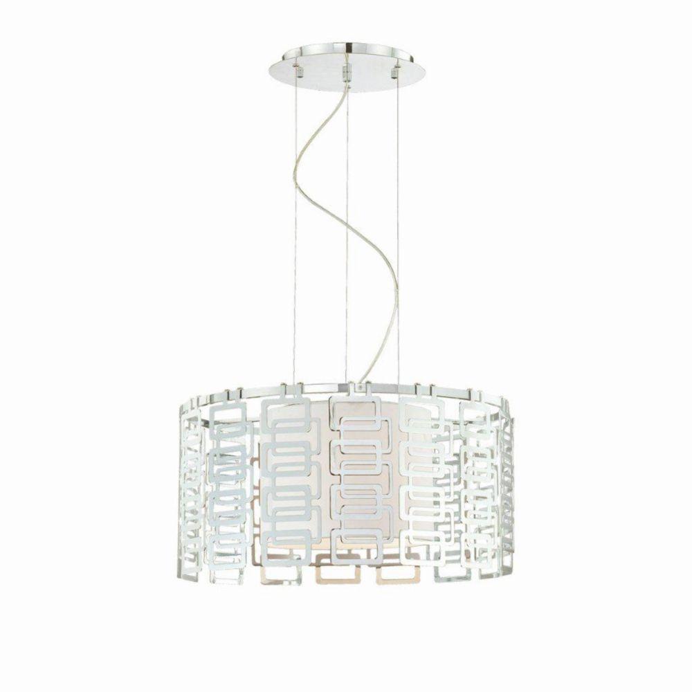 Luminaire Suspendue à 3 Lumières, Collection Razel