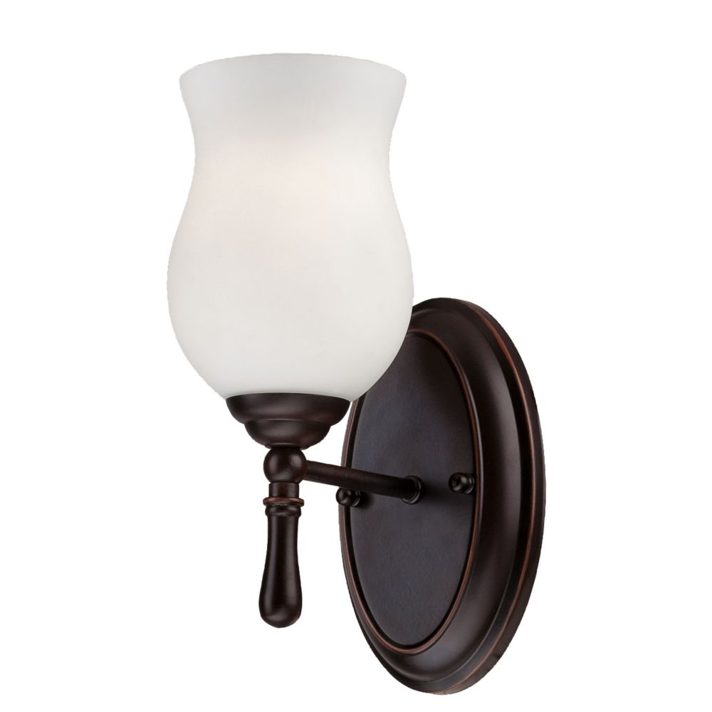 Regency Collection 1 Light Oil Rubbed Bronze Wall Sconce