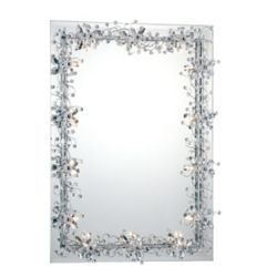 Eurofase Relic Collection 14 Light Chrome Mirror