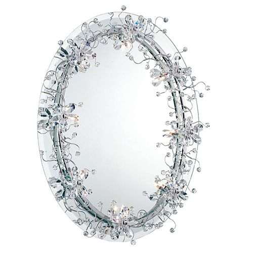 Eurofase Relic Collection 8 Light Chrome Mirror