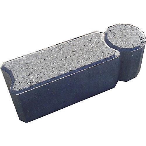 Bordure de jardin I-Con, gris charbon