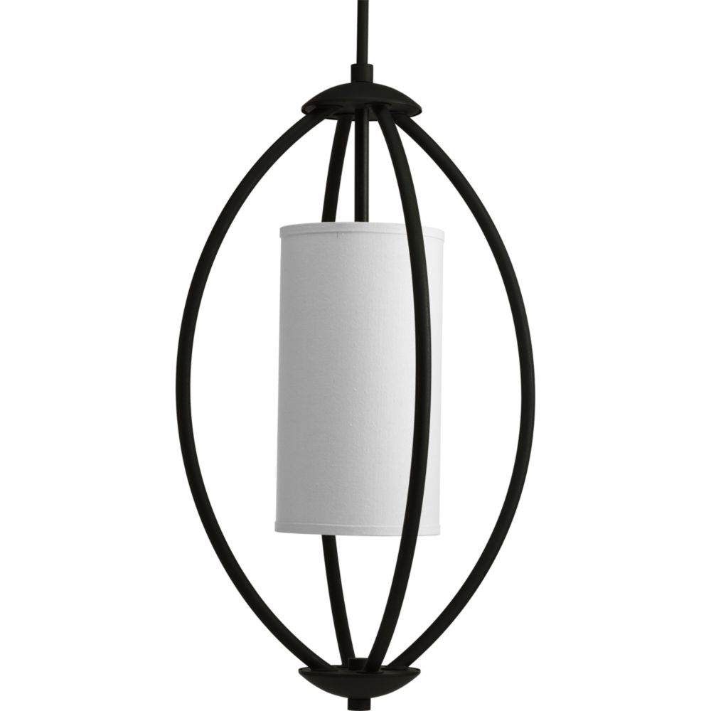 Calven Collection Forged Black 2-light Foyer Pendant