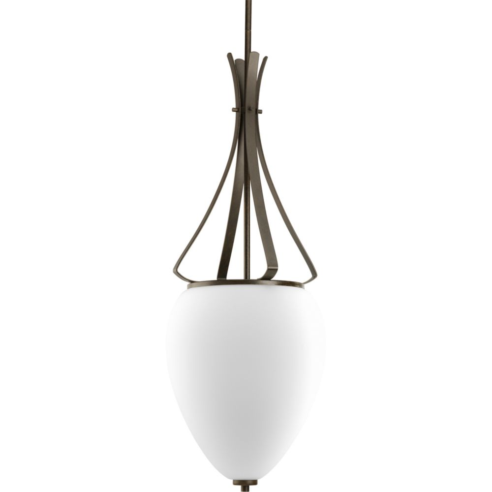 Rave Collection Forged Bronze 2-light Foyer Pendant