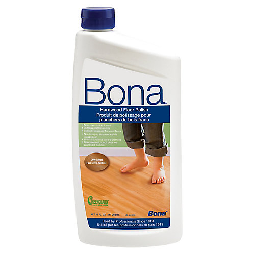 bona 32oz. low-gloss hardwood floor polish | the home depot canada