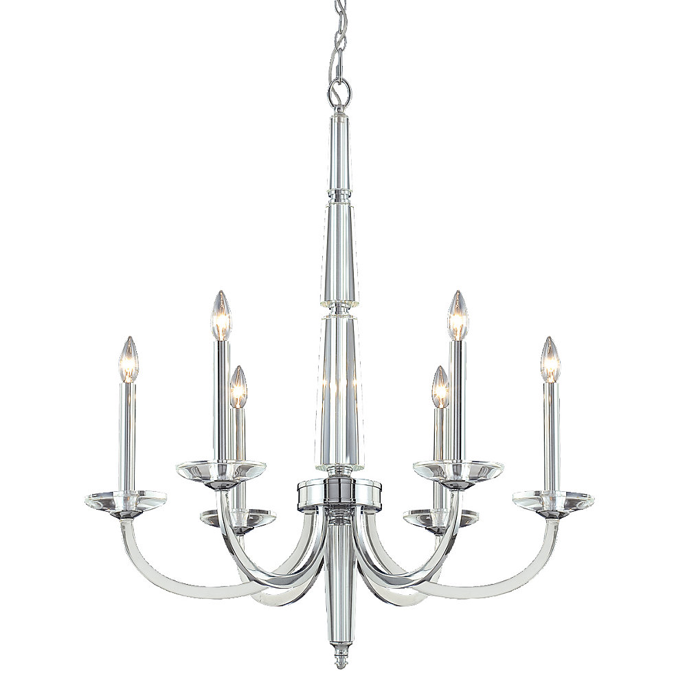 Senze Collection 6 Light Chandelier