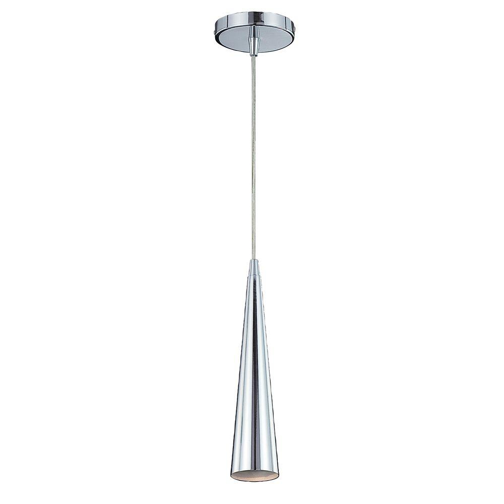 Sliver Collection 1 Light Chrome Pendant 20444-013 Canada Discount