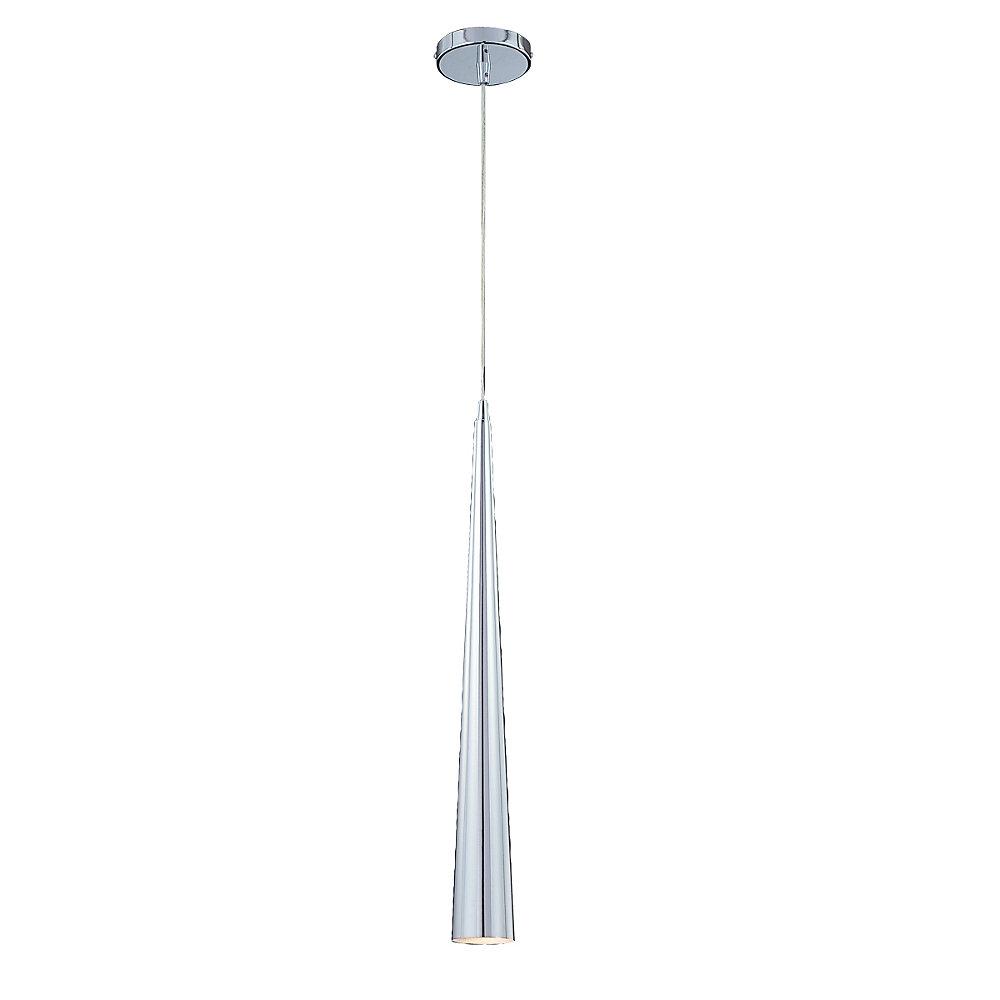 Sliver Collection 1 Light Medium Chrome Pendant