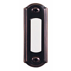 Wired Antique Copper Finish Push Button