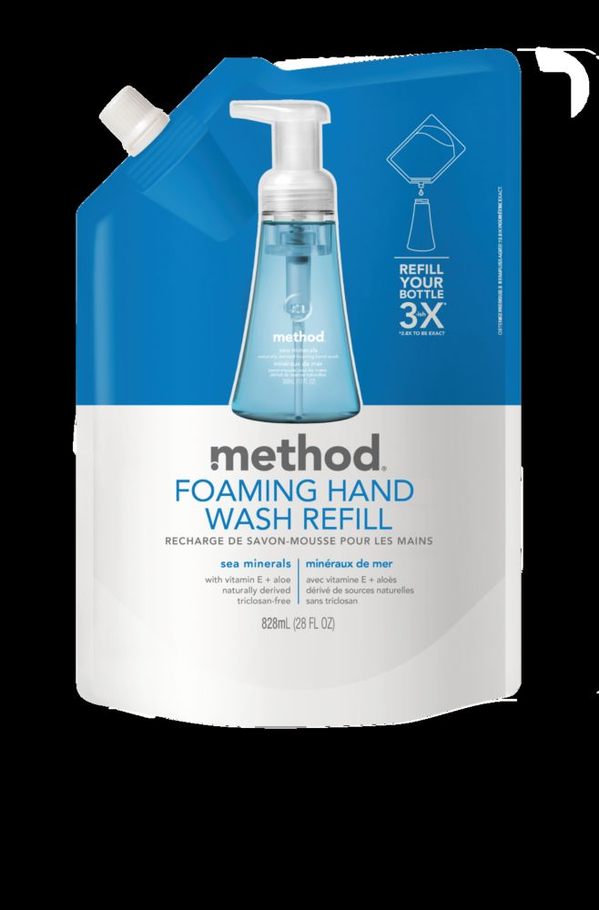 Foam Hand Wash Refill Sea Minerals 828mL