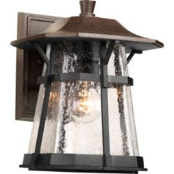 Progress Lighting Derby Collection 1-light Espresso Wall Lantern