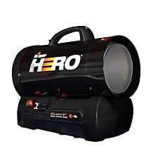MH60CLP Hero 30,000-60,000 BTU Forced Air Propane Heater
