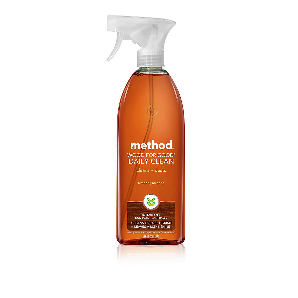 Method 828ml Daily Wood Cleaner Almond