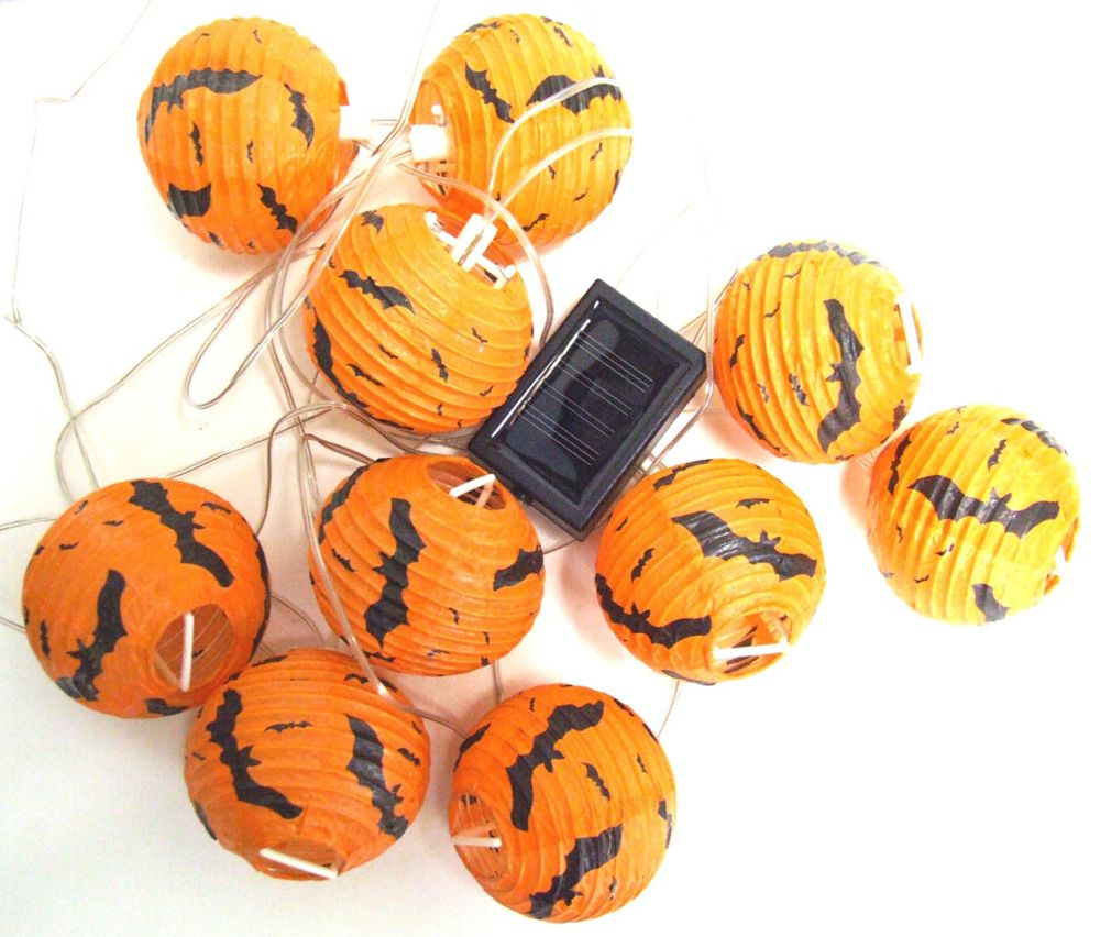 Halloween Solar String Light Set